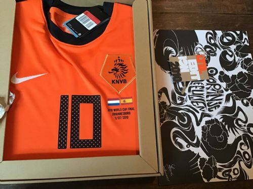 2010 Holland Boxed World Cup Final Sneijder Limited Edition Football Shirt Player Issue Netherlands